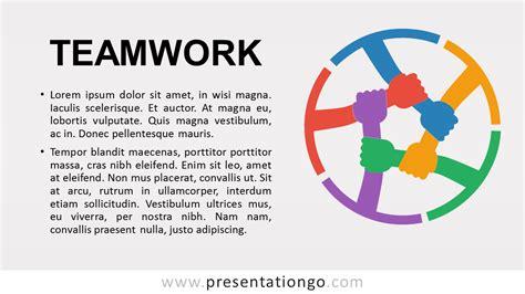 teamwork metaphor powerpoint template
