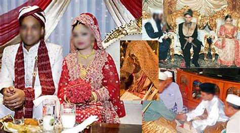 muslim wedding and its traditional customs and rituals gahoimumbai
