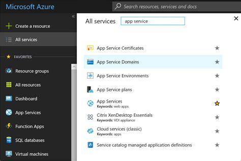 buy custom domain   azure app service microsoft docs