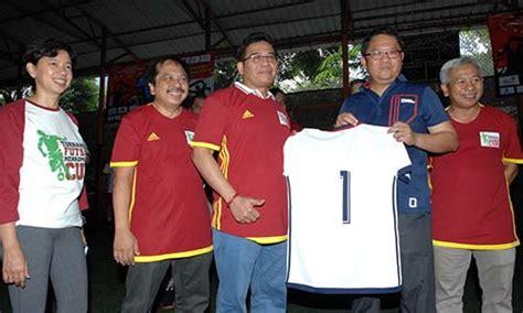 Seragam Tim Futsal Rudiantara Fokus Bangun Ekosistem Industri Telekomunikasi