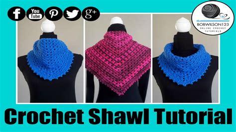 shawl pattern youtube crochet v stitch shawl tutorial youtube