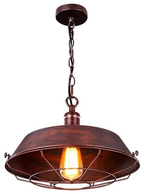 Houzz Pendant Lights Shop Houzz Remix Lighting Industrial Brass Copper Like Pendant Light Pendant Lighting