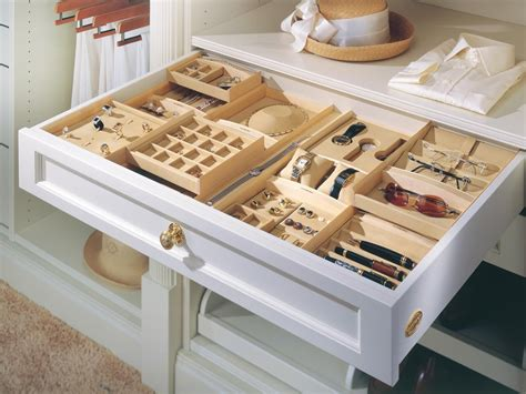 Drawer Jewelry Storage by Closet Jewelry Organizers Hgtv