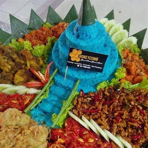 honeycomb catering service jakarta nasi tumpeng