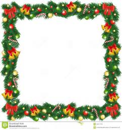 how to frame a print print christmas garland frame stock photography image