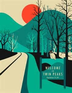 Duvet Twin Size Twin Peaks Art Print By Jazzberry Blue Society6