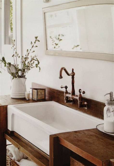 farm sink bathroom vanity farmhouse bathrooms farmhouse friday farm sink farms