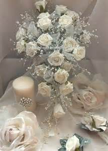 Beautiful hand made silk flowers wedding bouquets from angels weddings