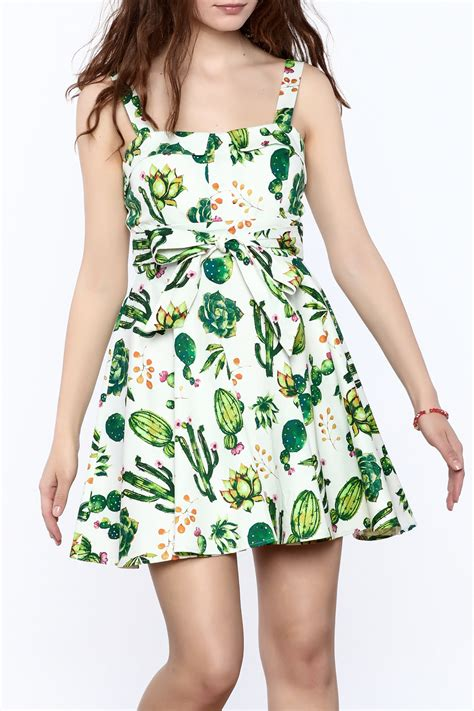 Cactus Dress ixia cactus print dress from louisville by block