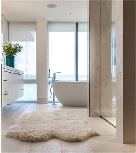 Sheepskin Bathroom Rug Joining The Club Sheepskin Rugs Centsational