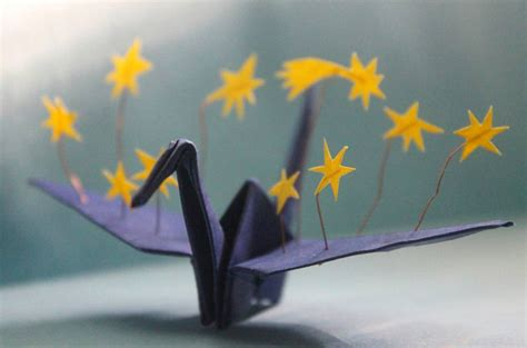 Beautiful Origami - beautiful origami crane by cristian snaps