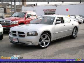 2007 dodge charger r t bright silver metallic slate