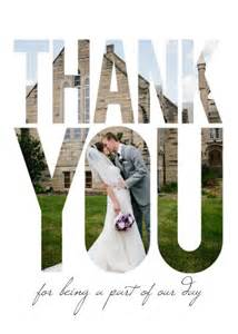 wedding thank you photo ideas youandyourwedding