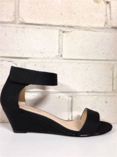 womens shoes new quot quot by verali low wedge heel strappy