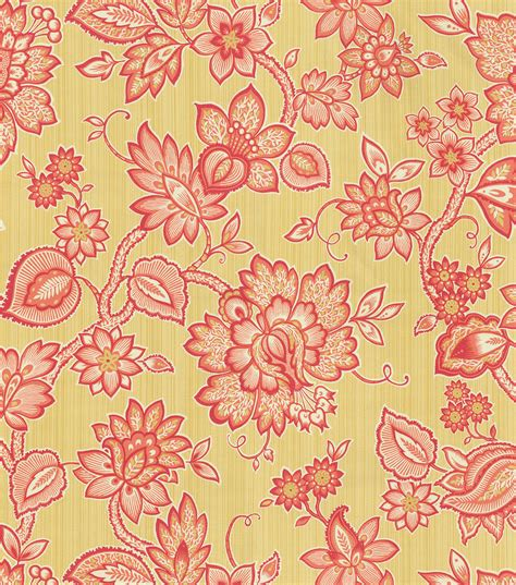 floral home decor fabric home decor print fabric waverly floral flair golden jo ann