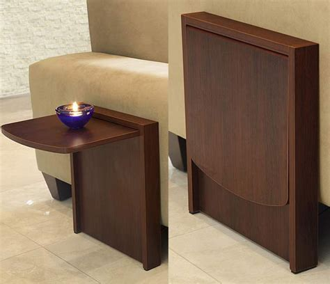 away side table the tuc away table is a side table that flips up when you
