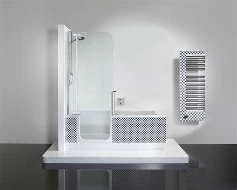 bathtub in the shower walk in shower easy access showerbath walk in bath
