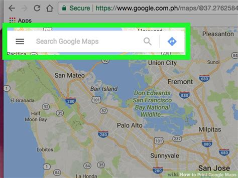 printable directions google maps 4 easy ways to print google maps with pictures wikihow