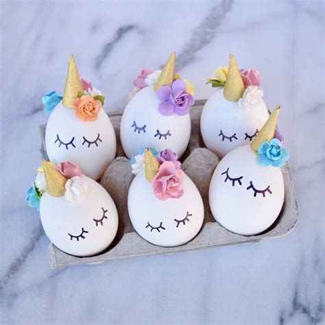 How To Make Home Decoration Things by Diy Unicorn Easter Eggs Tutorial