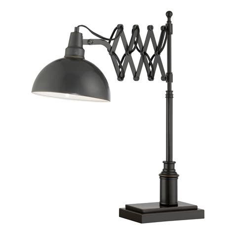modern desk light lite source ls 22280 armstrong 1 light desk l in