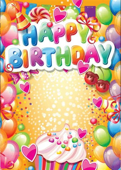 personalized birthday cards  printed mailede   international  shipping