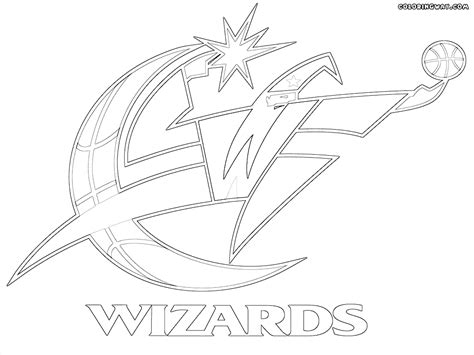 nba wizards coloring pages nba logos coloring pages coloring pages to download and