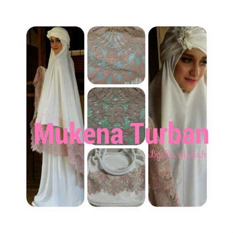 Mukena Jersey Original murah n ori collection mukena turban by lia shahab