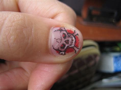 Nail Tattoos by Gudu Ngiseng Nail