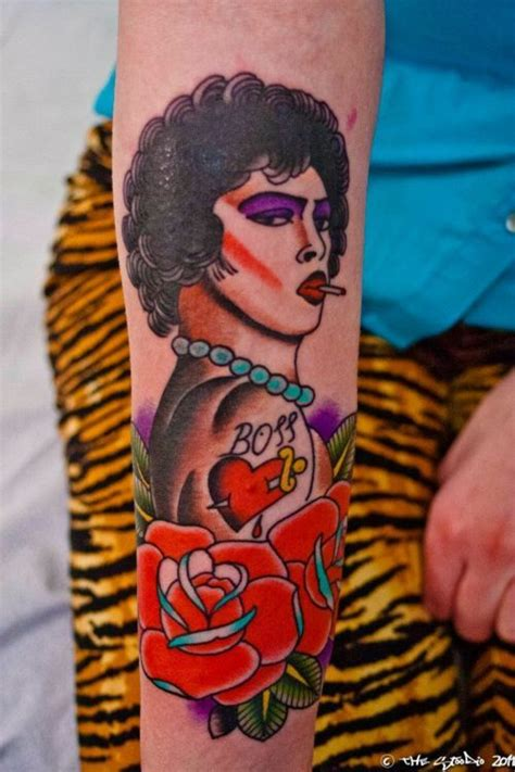 rocky horror tattoo rocky horror