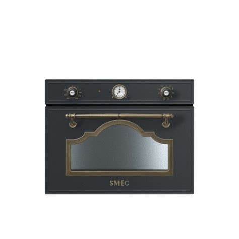 Microwave Cortina smeg sf4750mao compact microwave oven with grill cortina