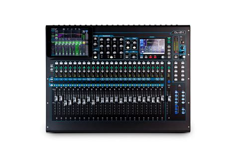 Mixer Allen Heath Qu 24 allen and heath qu 24 digital mixer