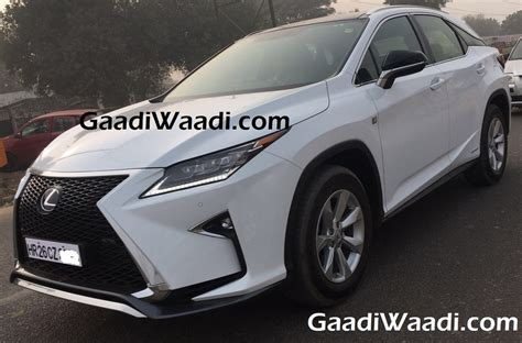 lexus india lexus rx 450h india launch price engine specs features