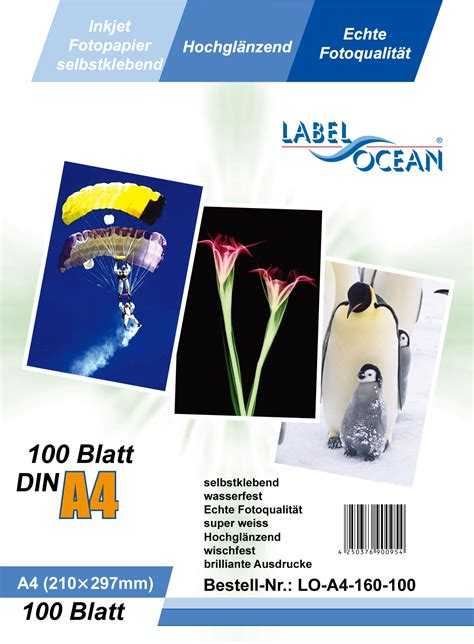 Glossy Photo Paper 210g Coral labelheaven ltd