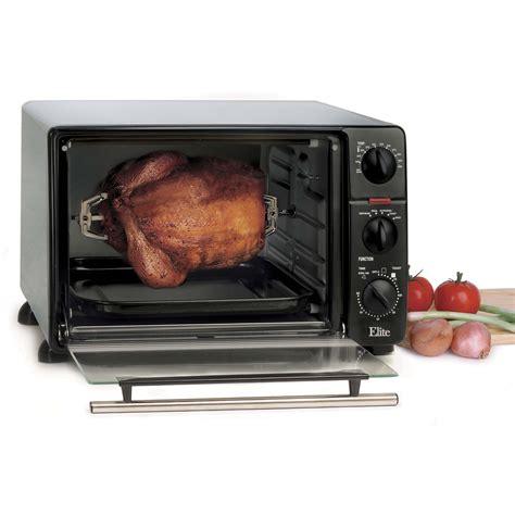 Toaster Rotisserie Oven Maxi Matic Elite Ero 2008n Cuisine 23 Liter Toaster Oven W