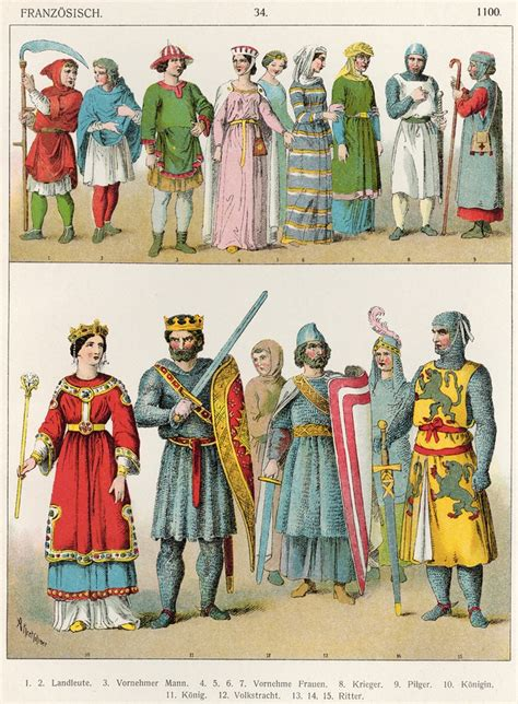 kings pattern history medieval attire c 1100 from a much later costume