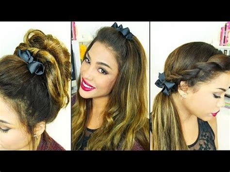 hairstyles easy and simple youtube 5 simple fall hairstyles youtube