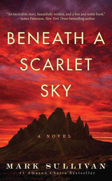 Beneath A Scarlet Sky A Novel beneath a scarlet sky a novel by sullivan paperback