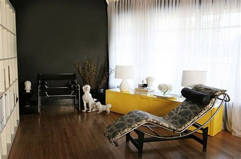 black and yellow living room how to decorate your home with color pairs