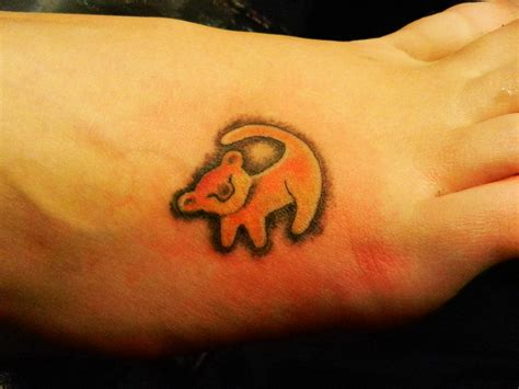 lion king tattoos king simba designs