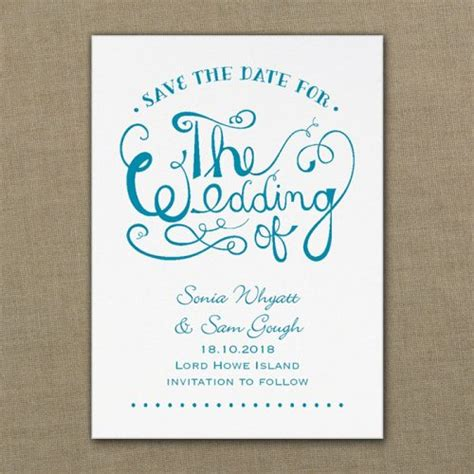 Save The Date Wedding by Save The Date Cards Magnets Formal Flamingo