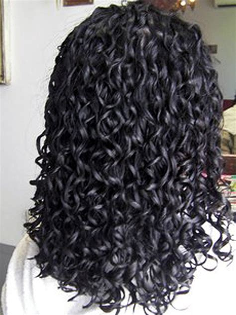 spiral perms for long hair spiral perm hairstyles for long hair hairstyle for women