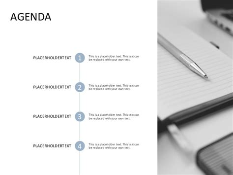 powerpoint design agenda agenda toolbox ppt template