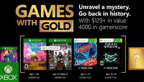 with gold april 2018 april 2018 with gold announced gaming central
