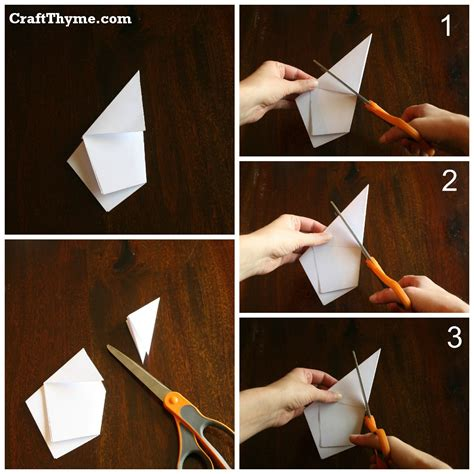 What Makes Paper - paper how to make 5 pointed 3 d craft thyme