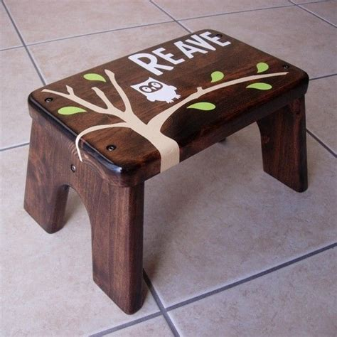 Personalized Wooden Step Stool For by Wooden Step Stool For Personalized Woodworking
