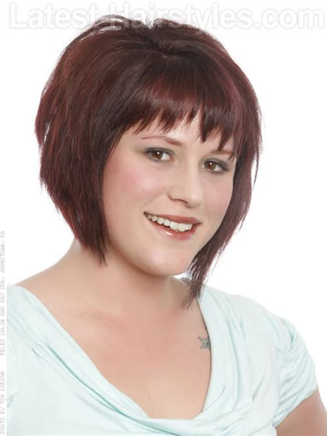 edgy bob haircuts 2015 hairstyles for fat faces womens the xerxes