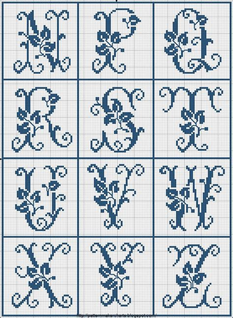 cross stitch alphabet pattern maker free big cross stitch letters pt 2 cross stitch lettering