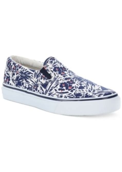 sperry top sider sperry s striper jungle print slip on