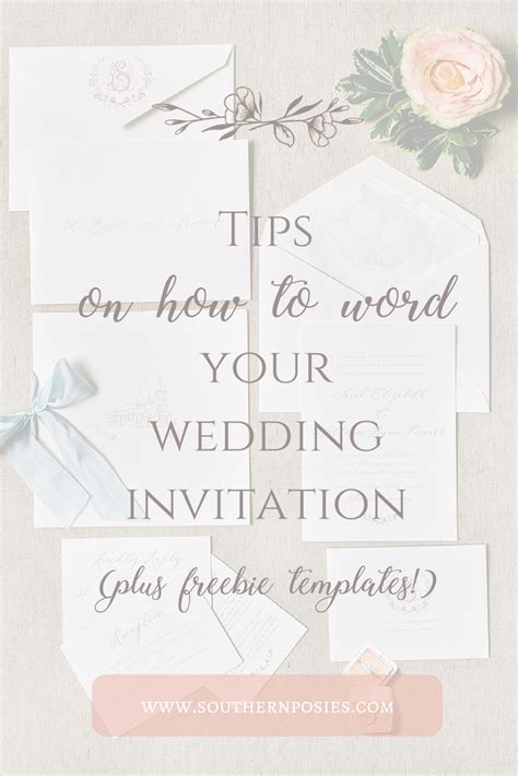 what to put on your wedding invitations how to word your wedding invitations southern posies