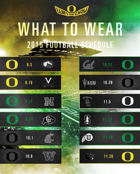 of oregon colors 2018 color schedule oregon ducks my